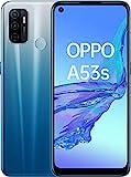 Oppo A53S – Pantalla de 6.5' (Neo-Display de 90Hz, 4GB/128GB, Snapdragon 460, 5000mAh, Carga Rápida 18W, Dual Sim) Azul