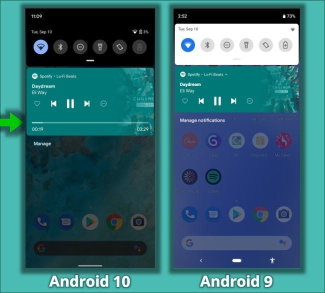 Características ocultas de Android 10