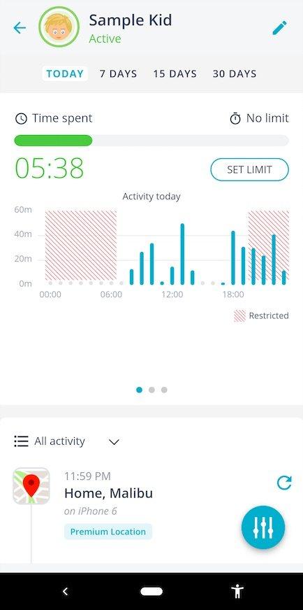 aplicaciones de control parental Android