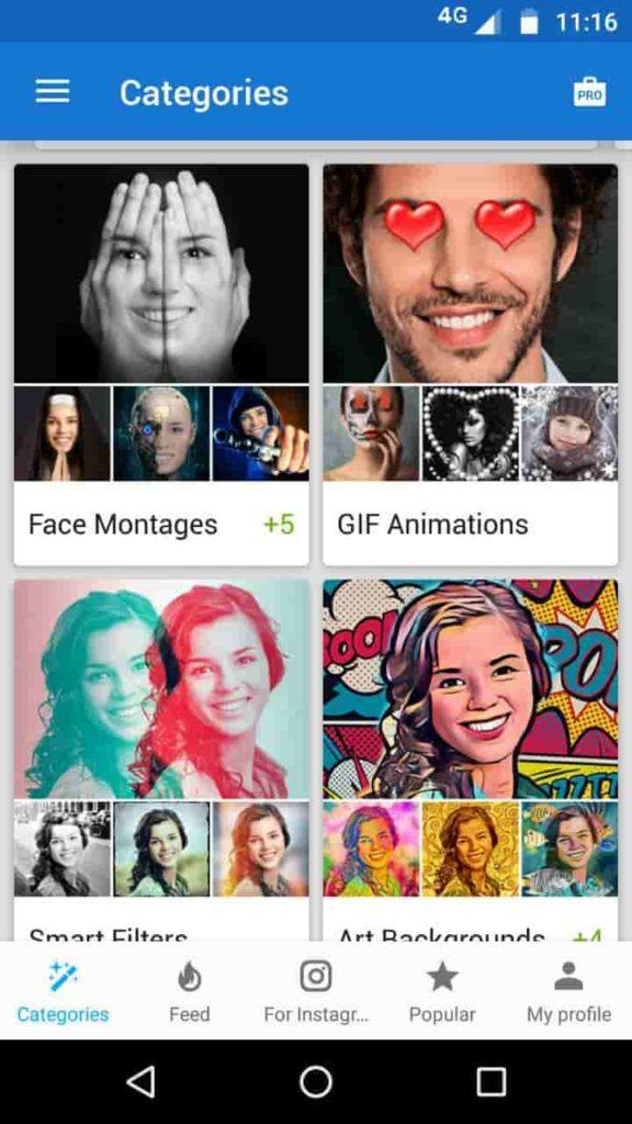 Mejores aplicaciones de edición de fotos para Android