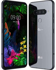 Teléfono de la marca LG G8S ThinQ