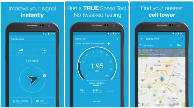 aplicaciones para  analizar WiFi de Android