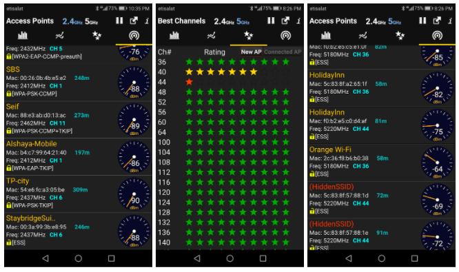 Las mejores apps para  analizar WiFi de Android