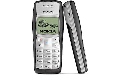 nokia 1100 model phone