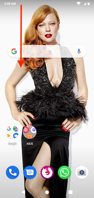 acceder al menú de configuración de Android