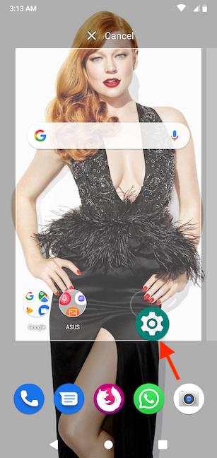 como puedes acceder configuración de Android