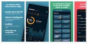 Sleep Cycle alarm clock,aplicaciones para controlar el sueño android