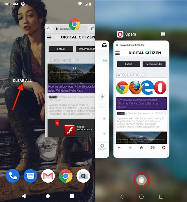 Que hacer para cerrar todas las aplicaciones en Android