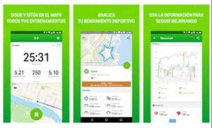 Endomondo aplicación para correr Android