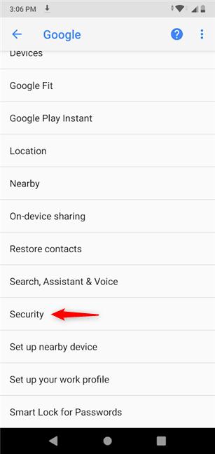 como encontrar mi dispositivo Android
