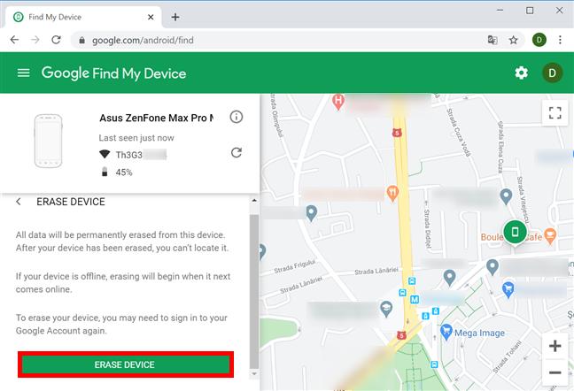 que hacer para localizar mi dispositivo