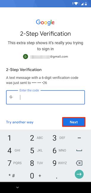 Cómo configurar una cuenta de Google en Android