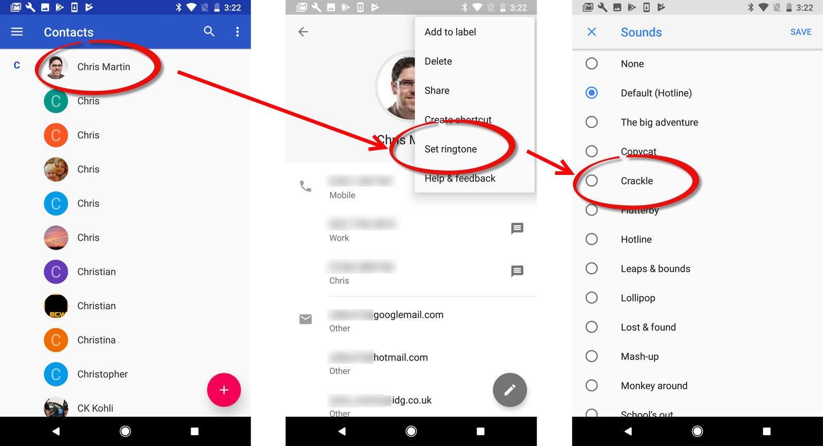 elegir tono de llamada Android