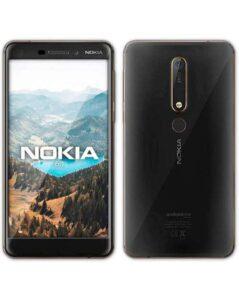 telefono de la marca Nokia modelo 6.1