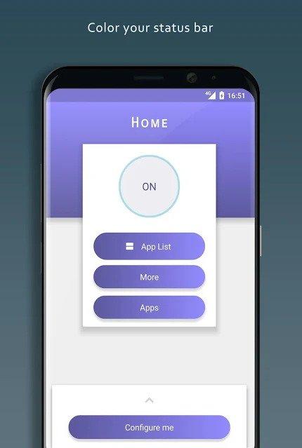 personalizar la barra de notificación en Android