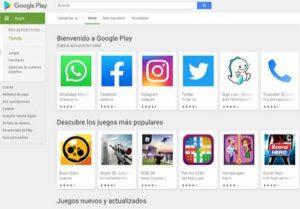 Tienda de aplicaciones para Android