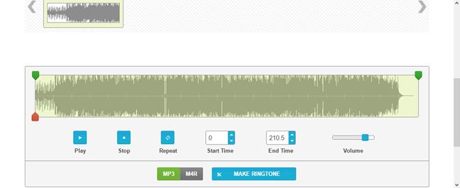 ringtonemaker.com - A ringtone maker website