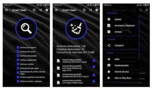 aplicaciones para limpiar archivos de Android