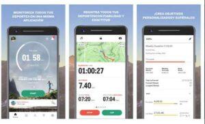 sports traker app para corre