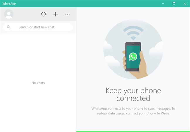 Use WhatsApp Desktop for Windows 10