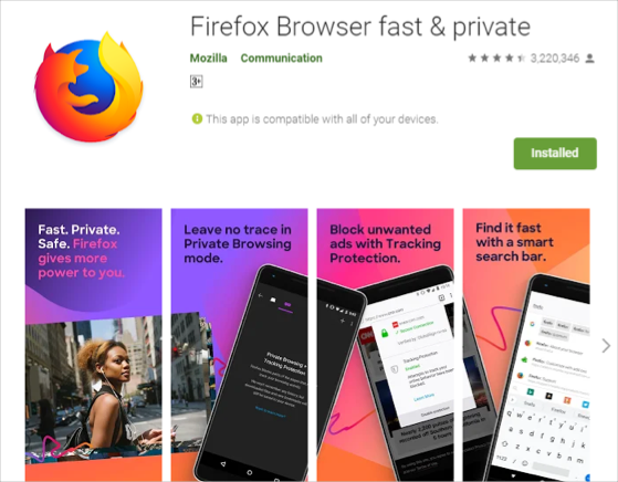 Firefox clásico para Android