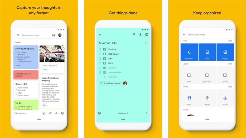 Google Keep: los mejores widgets de Android