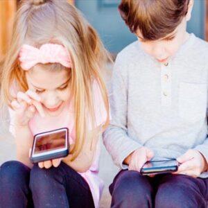 uso móvil niños