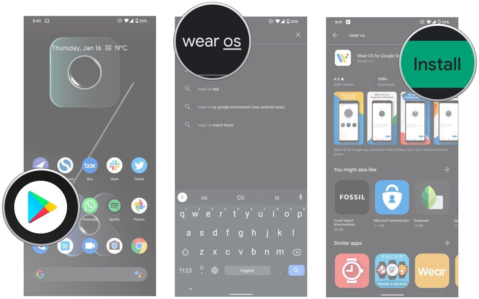 Cómo configurar un reloj inteligente con su teléfono Android