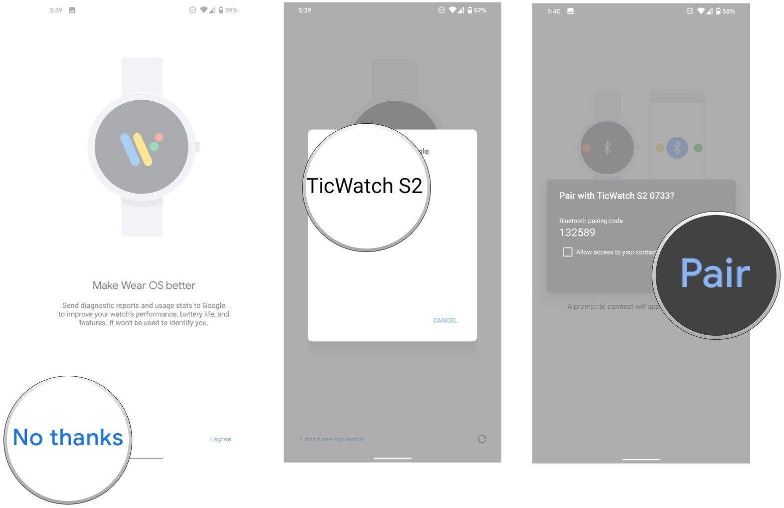 configurar un reloj inteligente con su teléfono Android