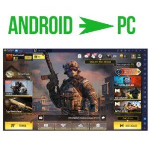 jugar juegos de android en pc