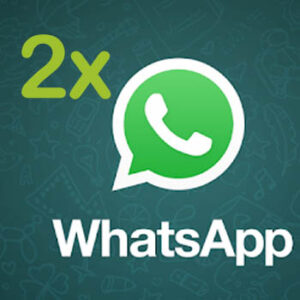 usar dos cuentas de whatsapp
