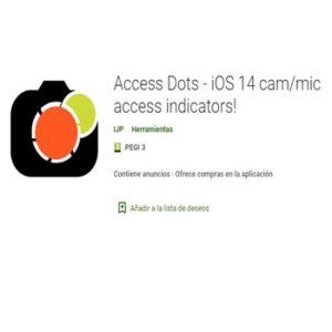 ver cuándo las aplicaciones acceden a su cámara y micrófono en Android