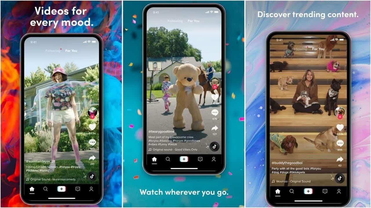 TIkTok aplicaciones para Android de redes sociales para 2021