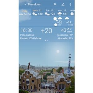 mejores apps del tiempo