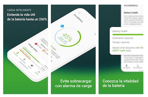 AccuBattery - Batería
