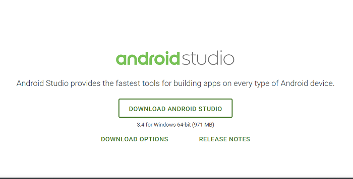 Desbloquear el teléfono Android usando Android Studio
