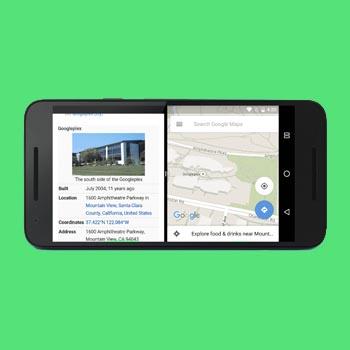 dividir la pantalla en android