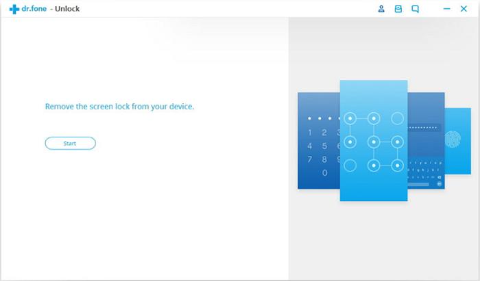 Desbloquea el teléfono Android usando dr.fone