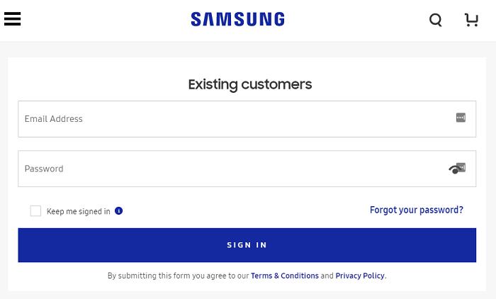 Desbloquear el teléfono Android con la cuenta de Samsung