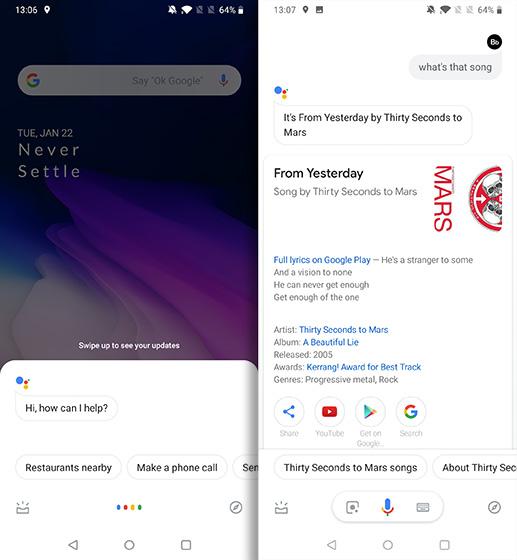 Accesos directos geniales para Android asistente de Google