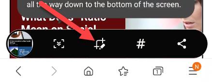 Cómo editar capturas de pantalla en Android