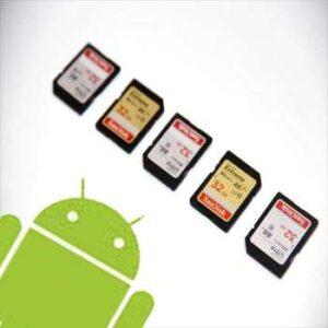 Formas sencillas de mover aplicaciones a una tarjeta SD en Android