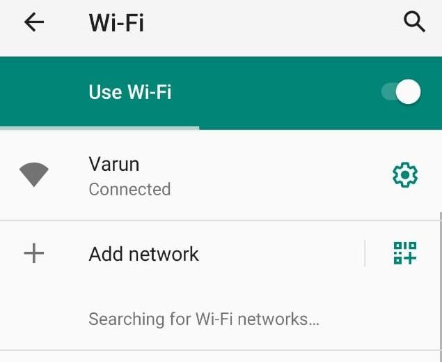 Opción de red e internet, Cómo solucionar Android no se conecta al Wi-Fi