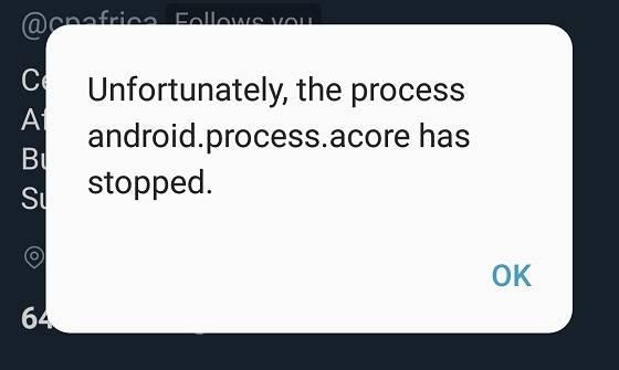 """Cómo arreglar el error """"android.process.acore se ha detenido"""" en Android"""