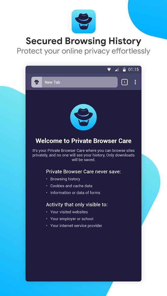 Historial seguro del navegador, Solucionar el navegador se abre solo en Android