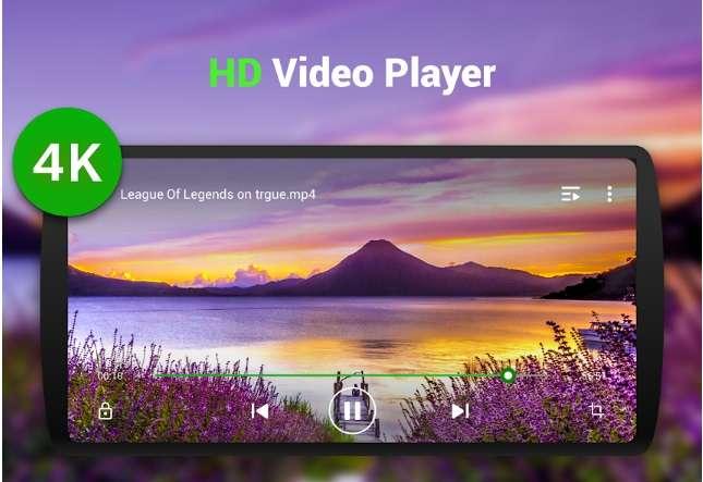 Reproductor de video de todos los formatos - Reproductor de video HD, XPlayer
