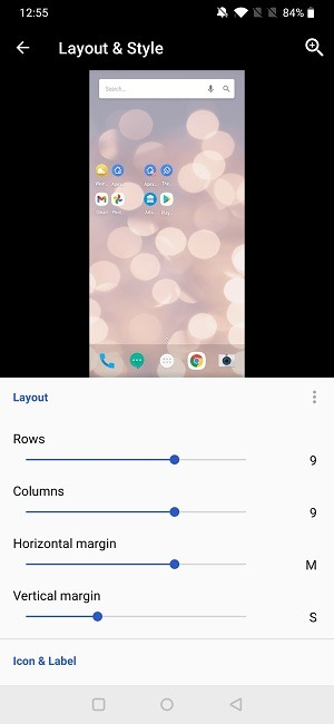 Cómo cambiar el tamaño del icono de la aplicación Cambio de diseño de Apex