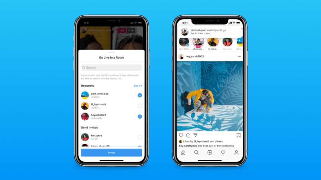 aplicación clubhouse en android salas en vivo de instagram alternativas