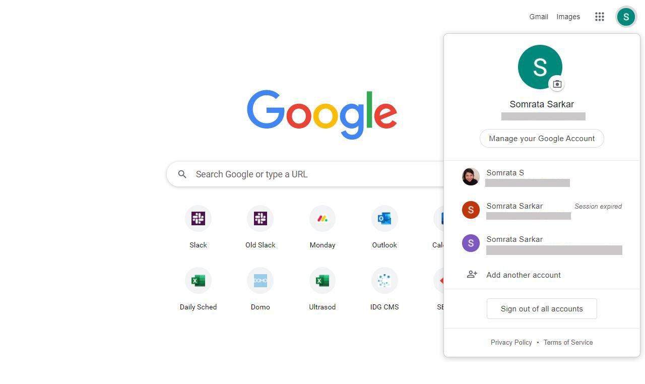 Almacenamiento de la cuenta de Google: administrar la cuenta