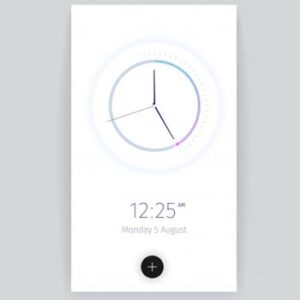 Cómo instalar el widget de reloj y fondo de pantalla de Android 12 en cualquier Android